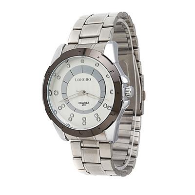 LONGBO Luxury Jewelry Brand Suppliers Hot Promotion New Fashion Business Casual Men Sport Waterproof Steel Quartz Watch 8711(China (Mainland))
