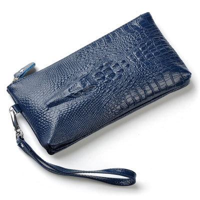 New Style Women Genuine Leather Clutch Bag 3D Crocodile Print Designer Evening Clutches Ladies Handbag Purse Bags N0312(China (Mainland))