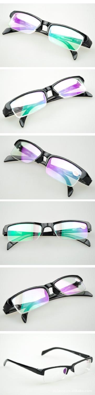 hot sale women's men's finished Reading Myopia glasses student's Black Glasses frame -100 -150 -200 -2.50 -300 -350 -400 850