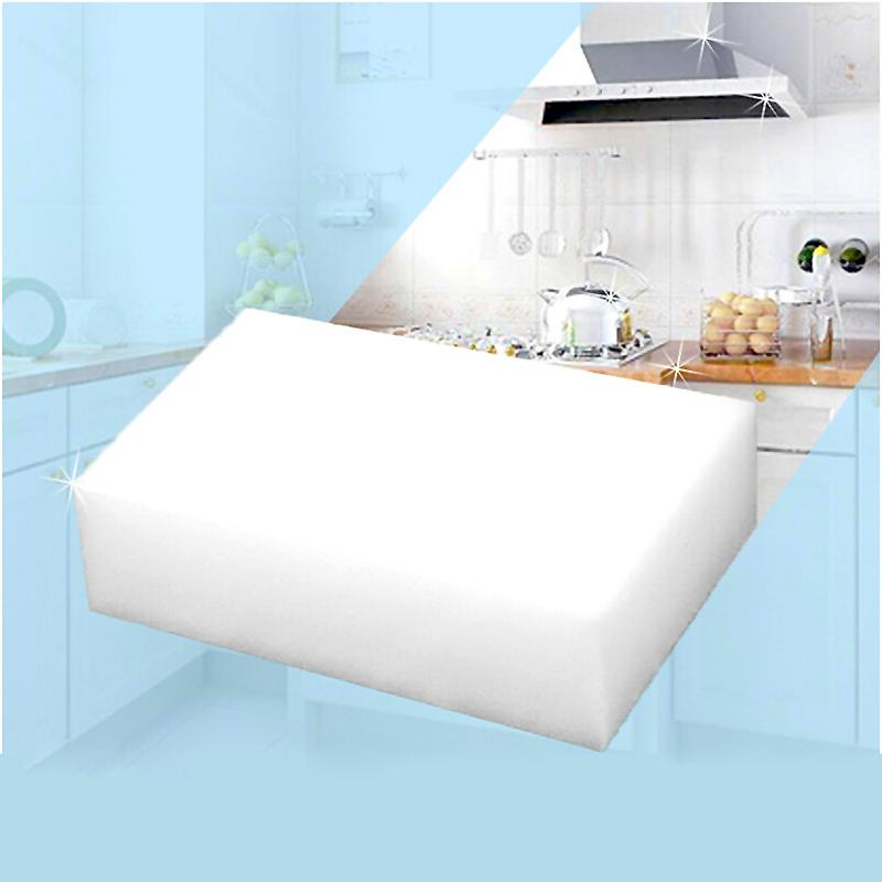 30 pcs/lot White Magic Sponge Eraser Melamine Cleaner,multi-functional Cleaning 100x60x20mm Wholesale Retial#ZH209(China (Mainland))