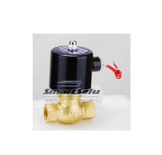 free shipping Free Shipping 10pcs 3/4'' Ports UNI-D Steam Solenoid Valve Brass PTFE Guide Solenoid Valves US-20 or 2L170-20(China (Mainland))