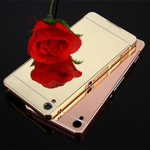 Buy Sony Xperia XA Ultra X Performance X Compact XZ Luxury Metal Aluminum Frame+ Mirror Hard PC Back Cover Phone Case Cover for $4.74 in AliExpress store