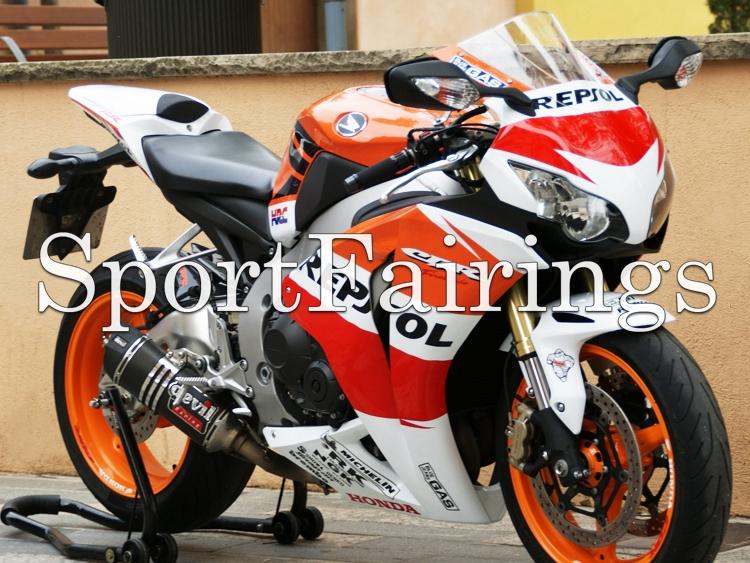 Full Fairings Fit Honda CBR1000RR Year 08 09 10 11 2008 2009 2010 2011 ABS Motorcycle Fairing Kit Bodywork Repsol Orange White(China (Mainland))