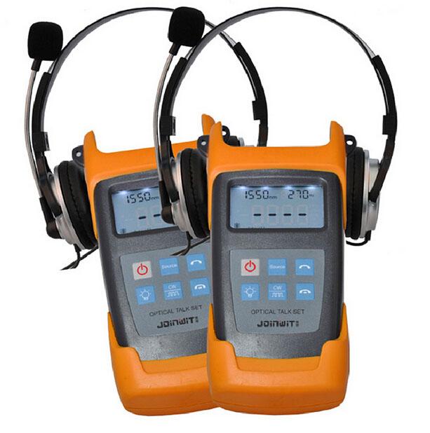 JW4103N 1310/1550nm handheld fiber optical talk set Free Shipping By DHL/UPS/EMS(China (Mainland))