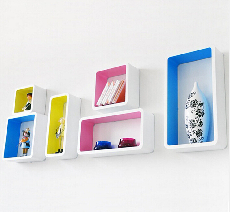 3d Wall Shelving : Aliexpress buy pieces lot decorative wall shelves
