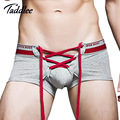 Taddlee Brand Sexy Mens Underwear Gay Penis Pouch Wonderjock U Convex Boxers Cotton Men Boxer Shorts