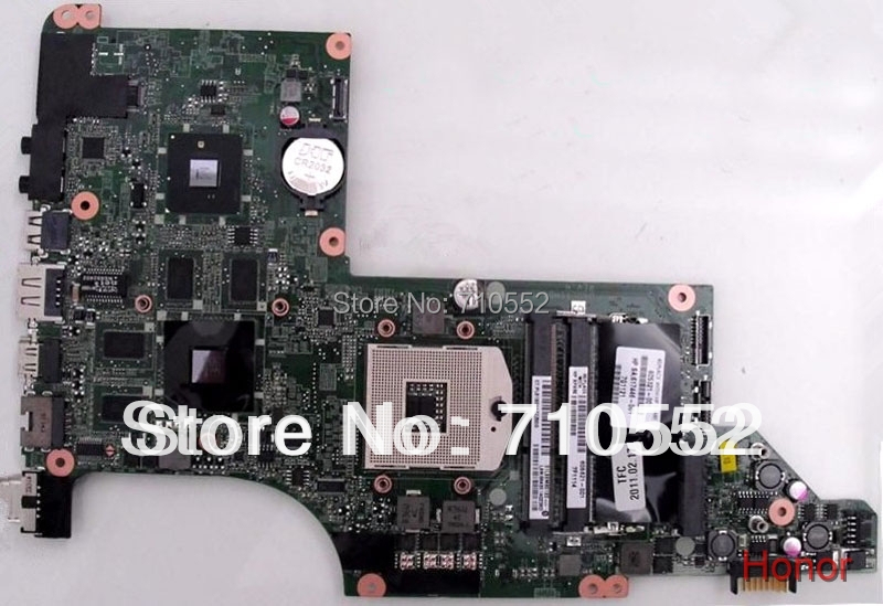 Post air mail free shipping for HP DV7 605321-001 Intel Laptop Motherboard 100%Tested &amp; work good<br><br>Aliexpress