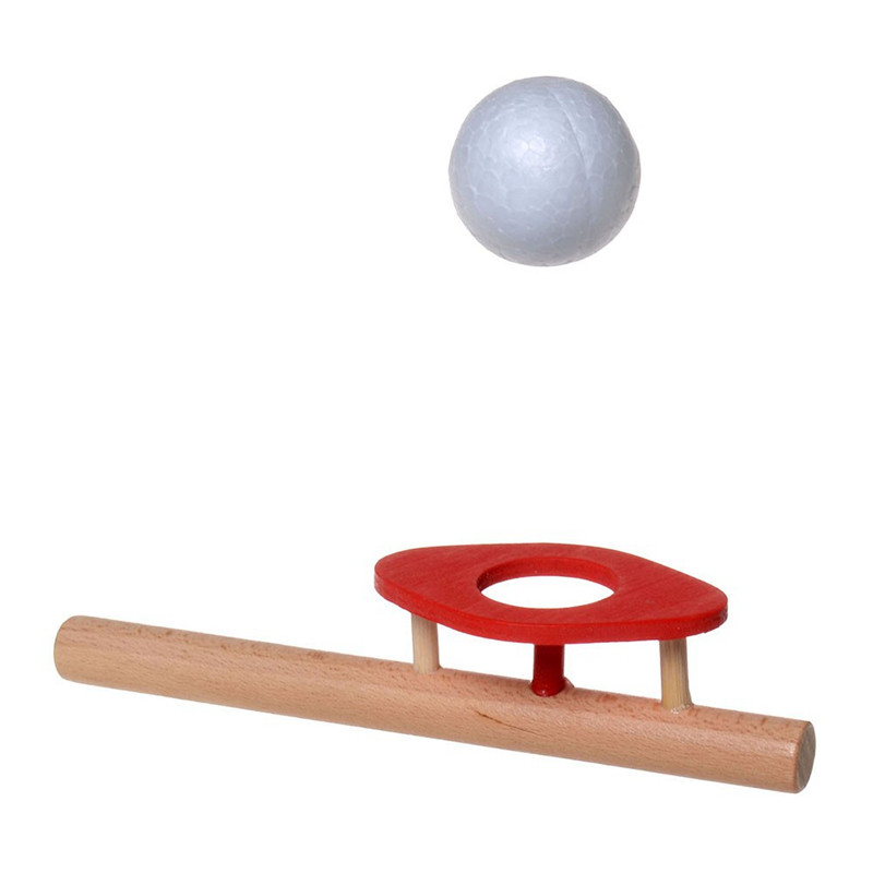 Wooden Intelligence Schylling Blow Toys Hobbies Outdoor Fun Sports Ball Foam Floating Ball Game Children Wooden Education Toys(China (Mainland))