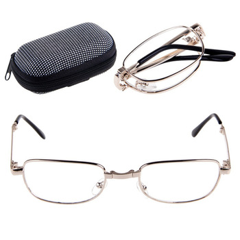 New Portable Unisex Women Men Foldable Reading Glasses With Box 1.0 to 4.0