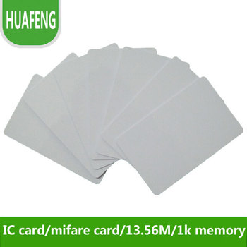Free shipping by express,RFID proximity IC card  13.56M,1k memory,s50 access control / time attendance/ car parking +min:2500pcs