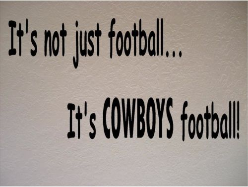 Dallas Cowboys Football NFL Vinyl Wall Art Room Removable Decal Sticker size 56*33cm(China (Mainland))