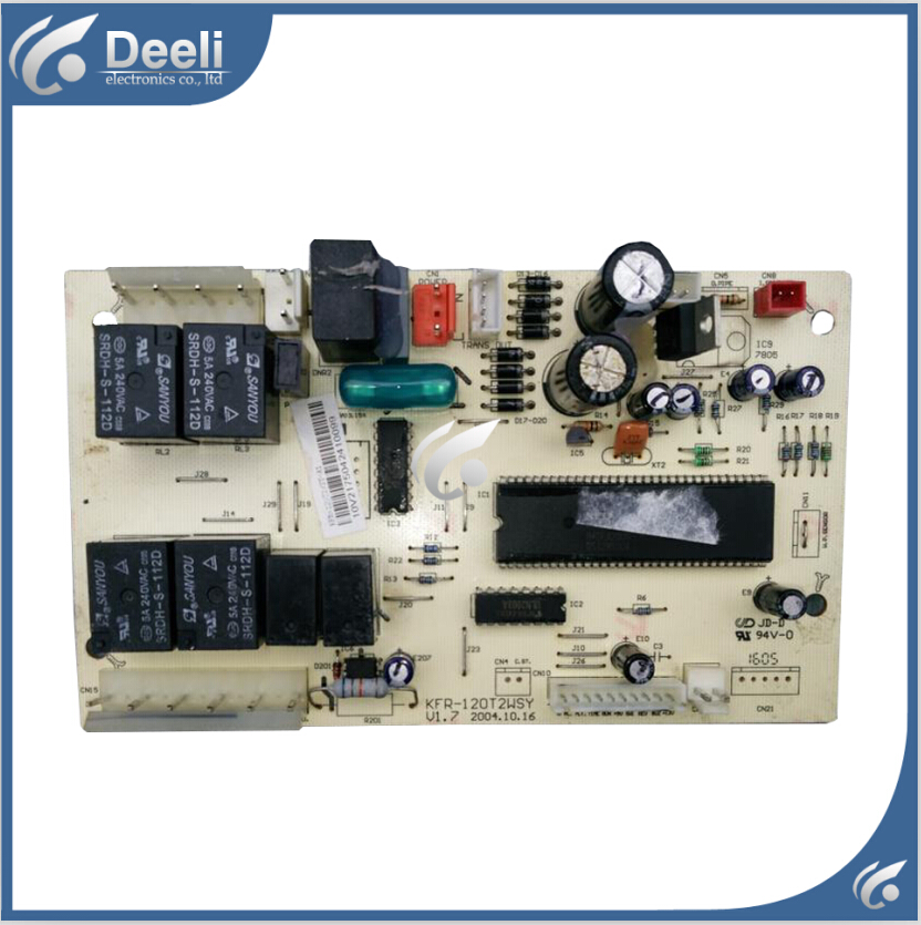 Free shipping 95% new Original for Midea air conditioning computer board KFR-120T2WSY V1.7 board<br><br>Aliexpress