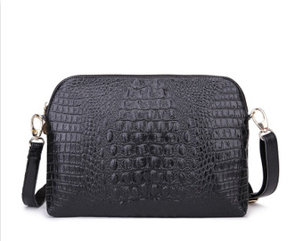 100% Genuine leather crossbody bags Rush 2015 new fashion crocodile leather ladies hand bag leather shoulder bag women bag(China (Mainland))