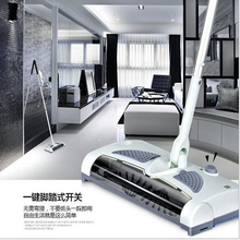 Cordless Sweeper Electric Floor Sweeper Electric Broom Mop Rod  Carpet Floor Vacuum Cleaner for home Dust Cleaner(China (Mainland))