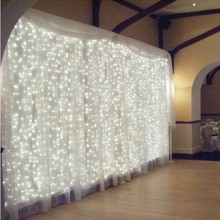 4.5M x 3M 300 LED String Lights Garlands Christmas Lights LED Fairy Lights Wedding/Party/Curtain Decoration Lights(China (Mainland))