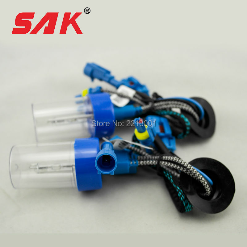 SAK 1lot ac 12v 55w xenon hid bulb headlight lamp auto car H1 6000K for quick start ballast factory sale wholesale and retail(China (Mainland))