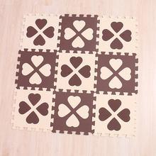 Mei Qi Keren 30 Cm * 30 Cm * 1 Cm Playmat Bahan EVA Bayi Bermain Tikar Busa Lantai Anak-anak bayi Pad Mat Puzzle Karpet(China)