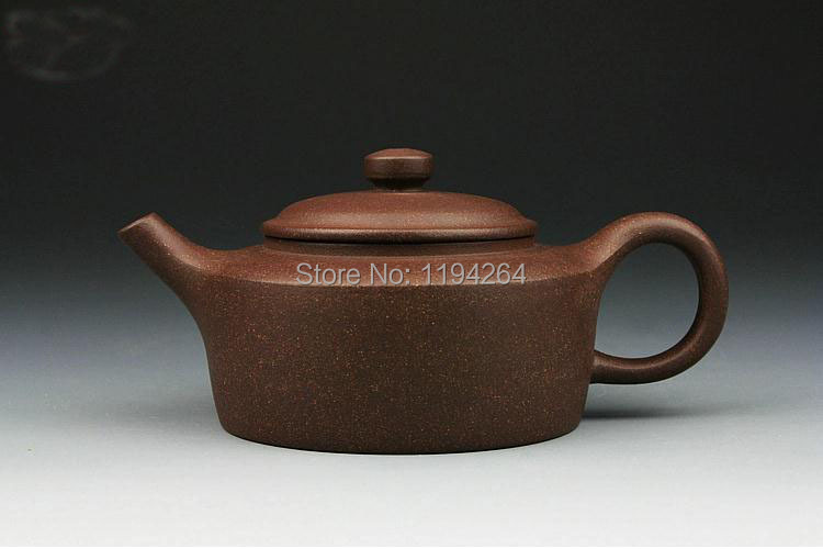 YiXing Purple Clay Pots Handmade Pottery Ware Kung Fu Teapot Tea Accessory 190ml
