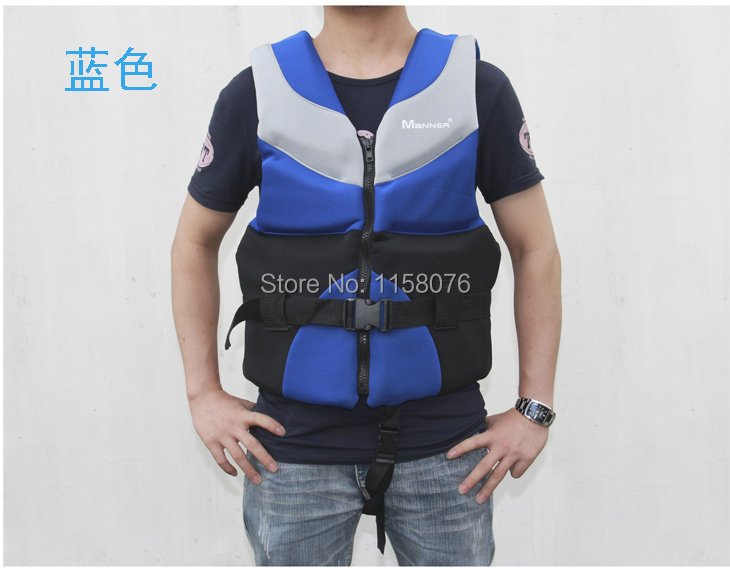 Manner life jacket(Life Vest) (NEOPRENE material) Inflatable boats / kayaks / applicable(China (Mainland))