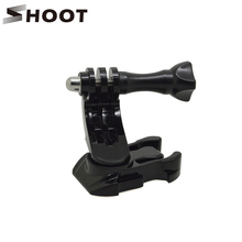 Buy Turntable J Hook Buckle Mount Base GoPro HERO 5 4 3 Session SJCAM SJ4000 Xiaomi Yi 4K Helmet Chest Strap GoPro Accessories for $2.66 in AliExpress store