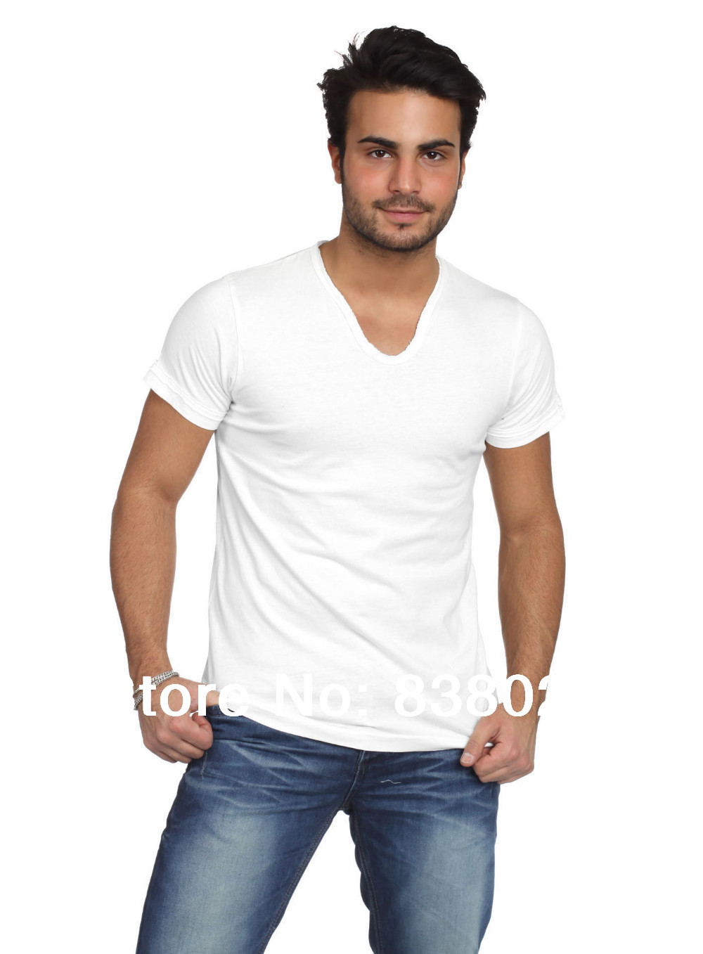 2013 new cotton mens shirts fashion casual slim long