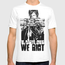 Buy Daryl Dies Riot New Fashion Men's T-shirts Short Sleeve Tshirt Cotton Wholesale for $9.96 in AliExpress store
