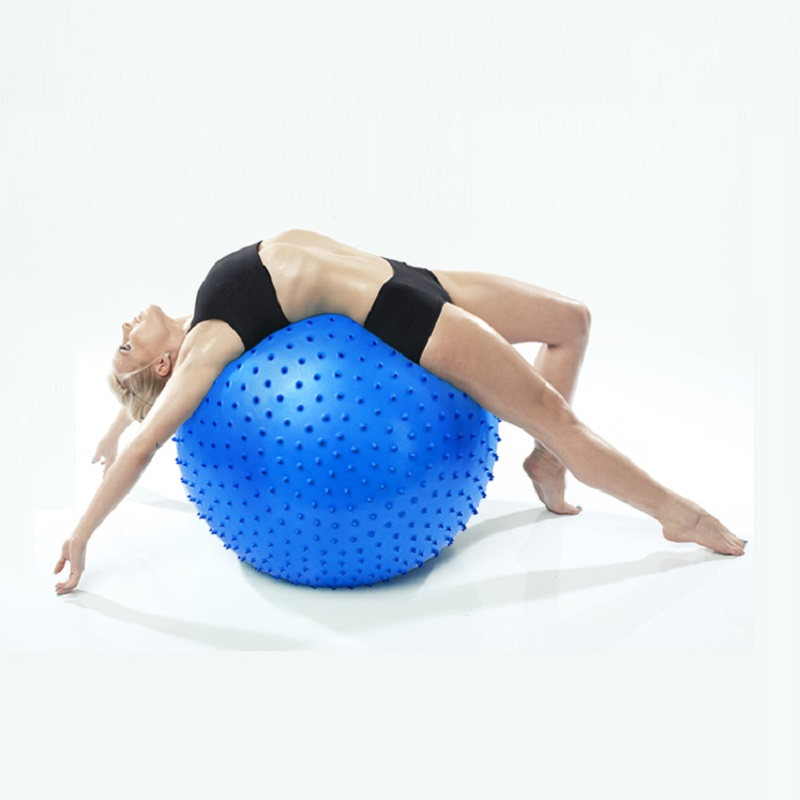 Yoga Ball yoga balance ball yoga ball Fitness Appliance Exercise point massage Massage Yoga Ball Fitness Body-building Tool 55cm(China (Mainland))