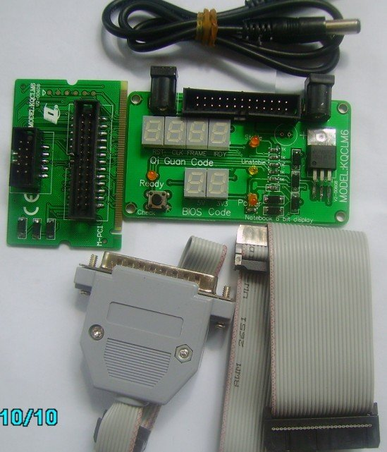 Computer Mainboard POST Diagnostic Card 6 Bits with M-PCI Bus for Laptop PC, Chinese Patented Product:03126857. Brand: QiGuan(China (Mainland))