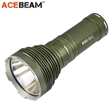 AceBeam K60 Hunting Flashlight CREE XHP 70 5000 Lumens 700M Magnetic Ring Control Switch 18650 Outdoor Military Searching Torch