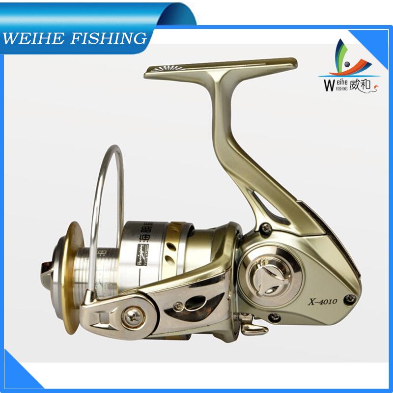 Bait casting fishing reels  10Ball Bearings x2010  x4010 fishing reel metal spool spinning reel sale for feeder fishing 2014 new