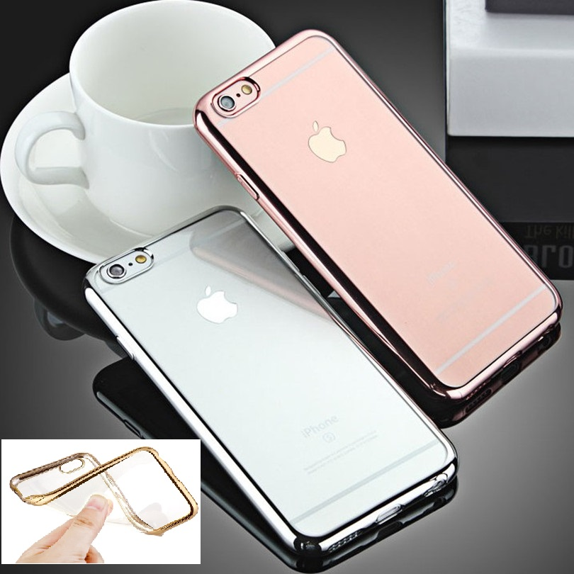 Fashion Luxury High Quality Plating Design Cover Case for iPhone 5 / SE 5S / 6 / 6S / 6 Plus / 6S Plus(China (Mainland))
