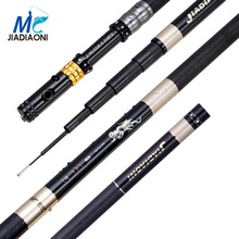 JIADIAONI 99%Carbon 3.6M 4.5M 5.4M 6.3M Long Telescopic Fishing Rod Fly Fishing Hollow Rod Carp Fishing Tackle Products China(China (Mainland))