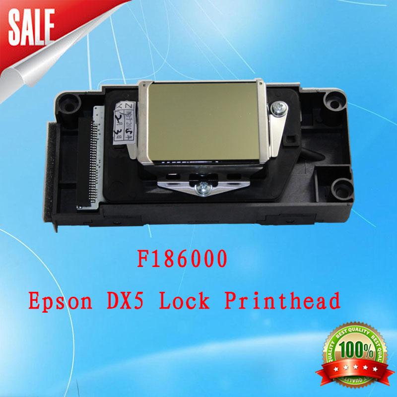 F186000 Eco-solvent Dx5 Printhead (first lock )Original and Epson DX5 eco solvent first locked new version encryption head(China (Mainland))