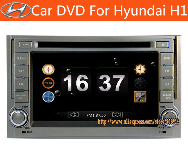 Factory Hot selling Special car Radio For HYUNDAI H1 2007- 2012 / Grand Starex / i800 / iLoad / iMax / H300 Gps And Bluetooth