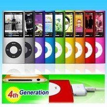 32GB NEW 9 COLORS FM VIDEO 4TH GEN MP3 PLAYER FREE SHIPPING