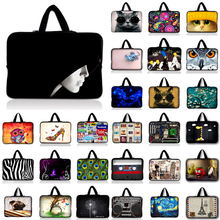 Buy Neoprene Laptop Sleeve 15.6 Computer Bag 10 11.6 13.3 14 15.4 17.3 inch Handle Laptop Bag PC Protective Case ASUS HP Acer for $5.07 in AliExpress store