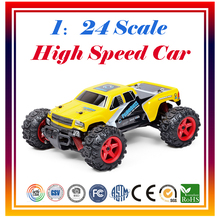 New Arrival 1:24 Scale 2.4G 4CH RC Car Racing Car Off-Road Vehicle High Speed Car 40KM/H Remote Control Drift car Free Shipping(China (Mainland))