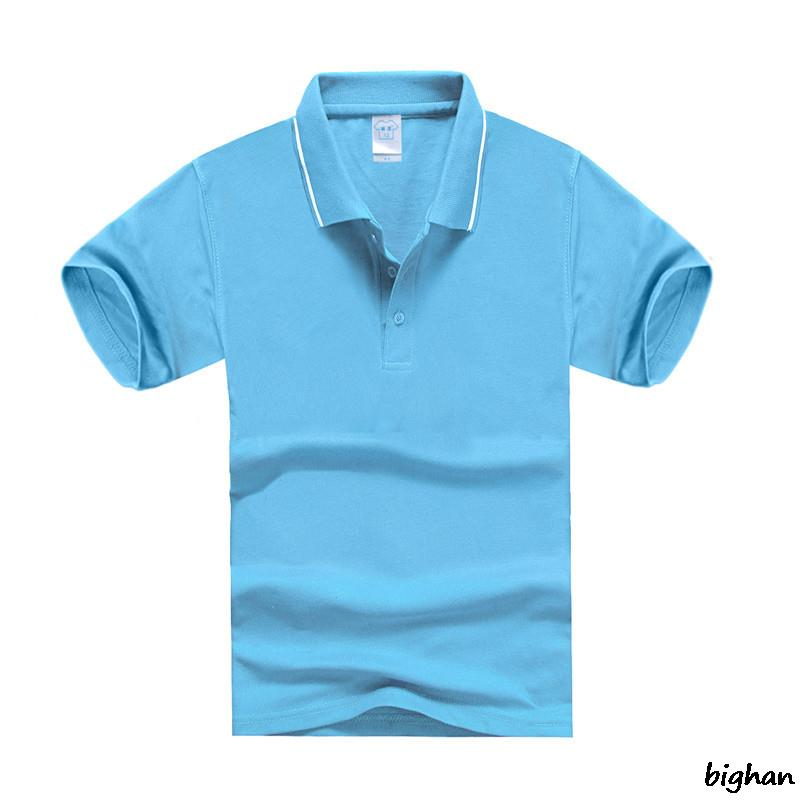 Breathable Polo Shirt Casual Boy's T Shirt and Girls T shirt Cotton Turn Down Collar Kids Summer Clothing Polo Shirt jerseyings(China (Mainland))