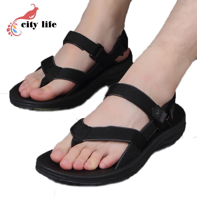 Homens Vietnam Flip-Flop 2016 Tamancos Sapatos de Verão Casuais Sandálias de Praia Masculino Chinelos Casal Preto Chaussures Calçados Tamancos(China (Mainland))