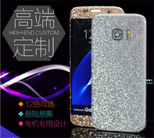 For iphone5 5s 6 6s 6plus Full Body Shiny Phone Protector Filmdecals matte back cover case Sparkling Diamond Sticker
