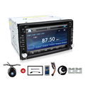Universal 2Din 6 2 In Dash Car DVD Player Radio Auto GPS FM USB SD Bluetooth