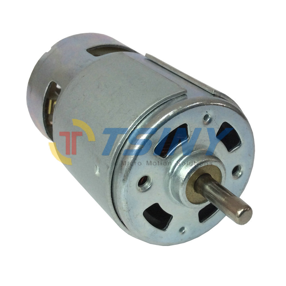 Cw Ccw Permanent Magnet Dc 12v High Torque Low Speed 5500 Rpm Brushed Mini Dc Motor With Bearing