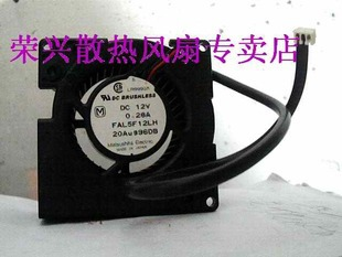 Panaflo FAL5F12LH 12V 0.28A 7CM 7528 blower fan cooling fan Can be used for the graphics card power supply chassis(China (Mainland))