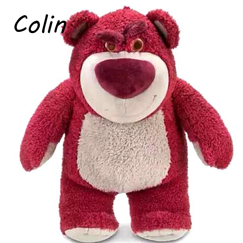 Toy Story Strawberry Bear Exclusive 15.7 Inch Deluxe Plush Kids Toys Huggin Bear WJ453(China (Mainland))