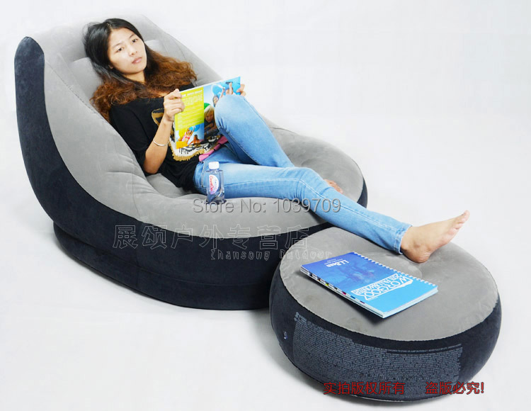 Intex bed sofa set living room furniture air sofa baby sofa bed,size 90cm*136cm*76cm,include repair patch(China (Mainland))