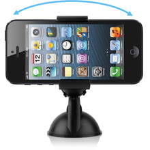 Hot Sale 360 Degree Rotating Car Windshield Mount Holder Stand Bracket for CELL Phone, Mobile Phone, GPS, Mp3, Mp4 Free Shipping