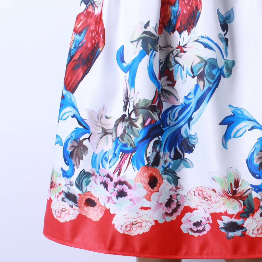 HTB1411lQFXXXXc3XFXXq6xXFXXXL - GOKIC 2017 Summer Women Vintage Retro Satin Floral Pleated Skirts Audrey Hepburn Style High Waist A-Line tutu Midi Skirt