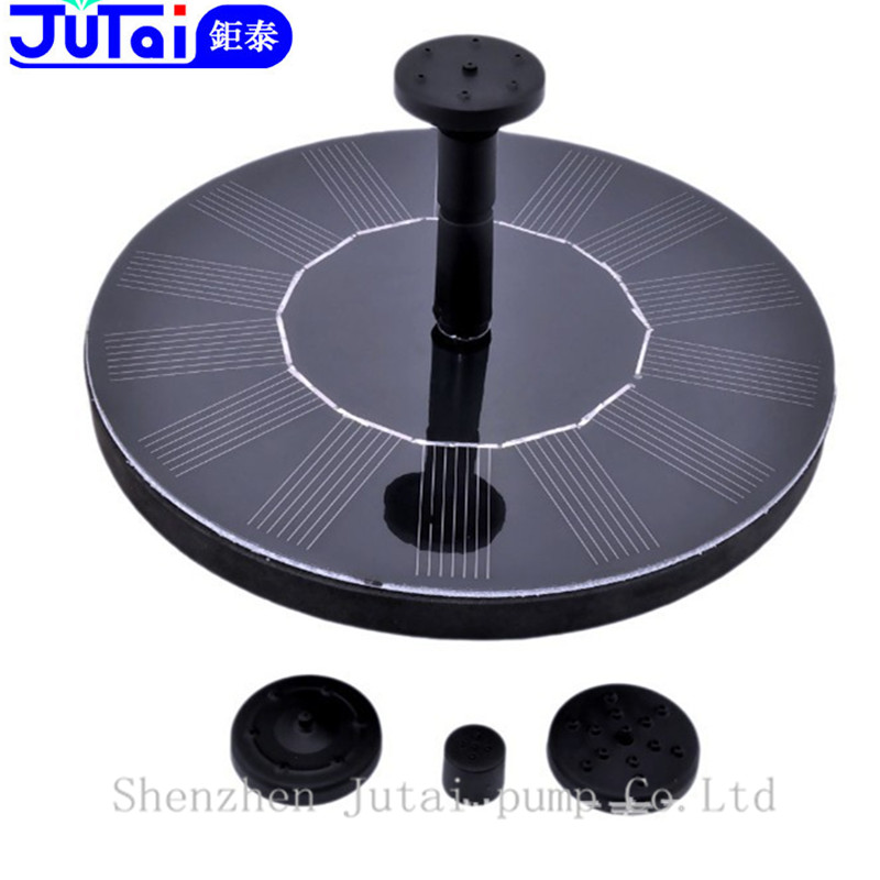 Water Pump Solar 8V Fountain Garden Power pump Pool plants Watering 10814A - Shenzhen Jutai Co. Ltd store