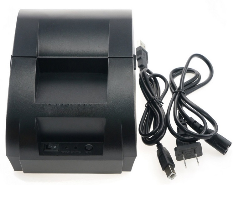 Free Shipping Thermal Printer Receipt 58mm USB POS Printer for restaurant and supermarket(China (Mainland))
