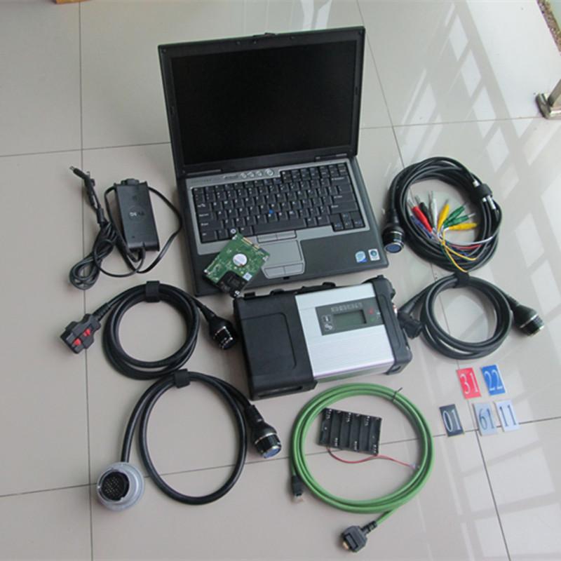 Высокое качество звезды mb c5 сканер wifi sd подключения c5 с ноутбуком d630 + c5 программного обеспечения 201.036 нескольких языков hdd полный комплект